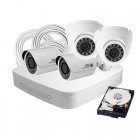 4 Camera DIY HD IP Security System