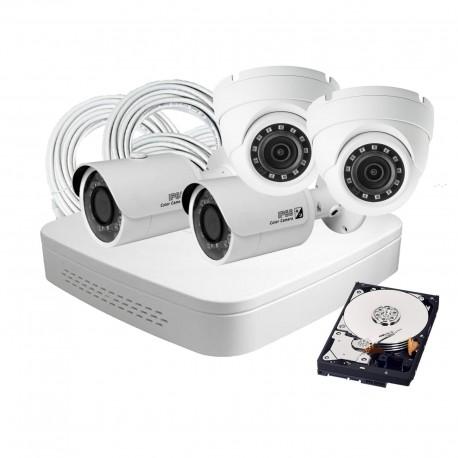 4 Camera DIY HD IP Security System