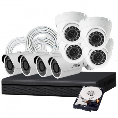 8 Camera DIY HD IP Security System