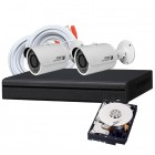 2 Camera DIY HD CVI Security System
