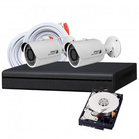 2 Camera DIY HD CVI Security System