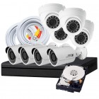 8 Camera DIY HD CVI Security System