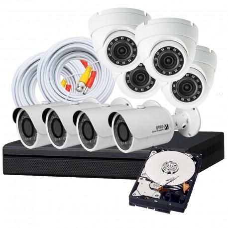 8 Camera DIY HD CVI Security System